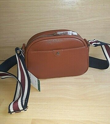 £29.99 • Buy Ladies Bag JOULES BNWT Tan Brown Small Camera Cross Body Pu Faux Leather TRENT