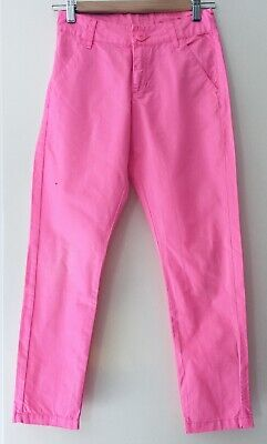 £2.99 • Buy H&M Girls Chino Trousers Fuchsia Age 10-11- Excellent Condition