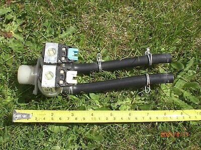 £5 • Buy Hoover Optima WMH 147DF Washing Machine Water Inlet Valves Assembly -- USED--
