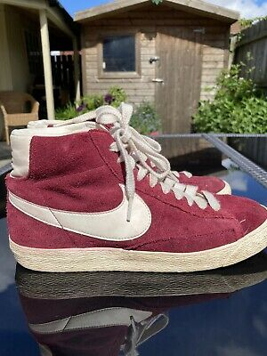 £6.90 • Buy Nike Blazer Mid '77 Maroon Trainers Size 6- RARE FIND!