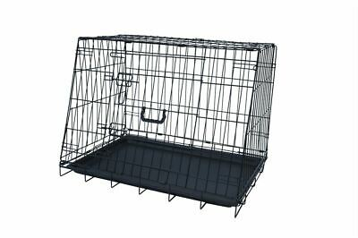 £39.99 • Buy 30  Medium Delux Collapsible Slanted Car Boot Pet Transport Puppy Dog Crate Cage