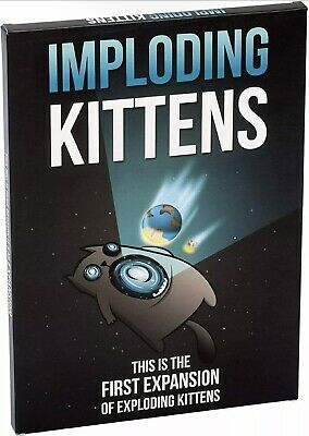AU29.50 • Buy Imploding Kittens: This Is The First Expansion Of Exploding Kittens Card Game -