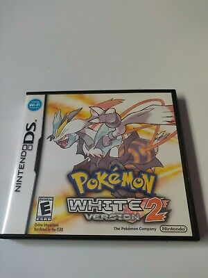 $52.75 • Buy NO GAME! Pokemon White Version 2 Nintendo DS CASE&MANUAL&INSERTS ONLY Authentic