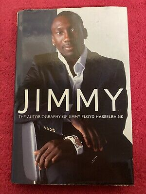 £27.99 • Buy Rare Jimmy Floyd Hasselbaink Signed Autobiography / Book - Chelsea Leeds United