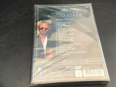 £12.50 • Buy RINGO STARR  -Most Famous Hits DVD  *NEW*