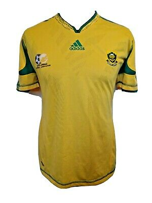 £14.99 • Buy Vintage  Official  Adidas  SOUTH AFRICA  Football  Shirt  Adults  Small