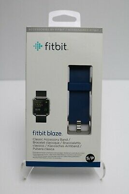 AU31.92 • Buy Fitbit Blaze Wrist Watch Band: Silicone Strap - Blue (Small/Large) NEW AUTHENTIC