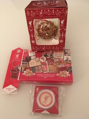 £8 • Buy NEW LIVERPOOL OFFICIAL FC 20/21 Bundle Coin, Keyring,bauble,clotted Fudge. Nwt