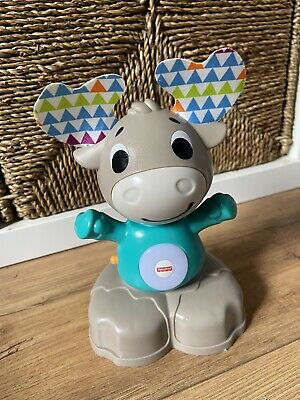 £6 • Buy Fisher Price Linkimals Musical Moose Interactive Educational Toy With Lights...