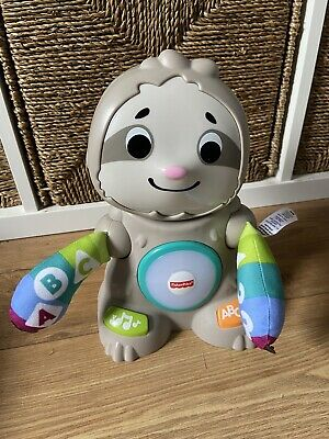 £15 • Buy Fisher Price Linkimals Smooth Moves Sloth Baby Toy With Music & Light