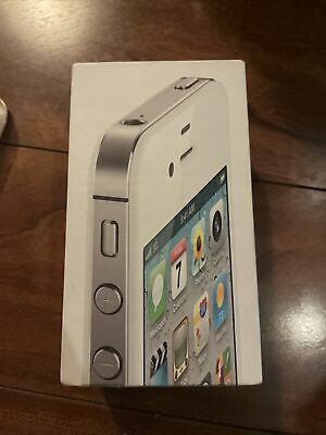 £1.46 • Buy EMPTY White IPhone 4s Box With Manual, Good Condition, NO ACCESSORIES!