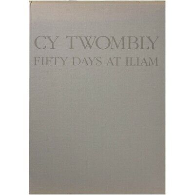 £76.38 • Buy Cy Twombly - Fifty Days At Iliam (1990, Edition Cantz)