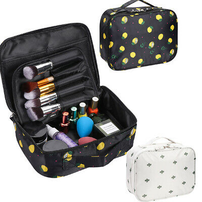 £5.79 • Buy Pouch Makeup Case Organizer Travel Cosmetic Bags Make Up Bag Mesh Package