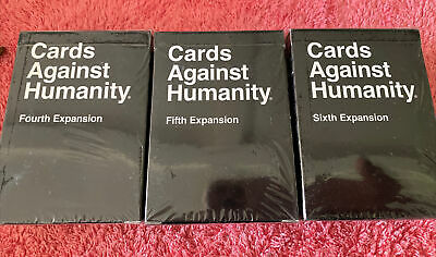 AU22 • Buy Cards Against Humanity 4th 5th 6th Expansion- Adult Fun Card Game NEW