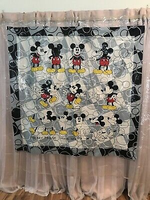 £4.96 • Buy Disney  Vintage Mickey  Mouse  Shower Curtain