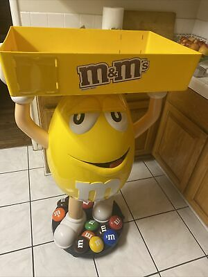 $249.95 • Buy Yellow M&M Candy Store Display W/ Storage Tray 44in Local PU
