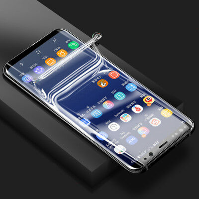 $ CDN2.61 • Buy TPU Screen Protector Film For Samsung Galaxy Note 9 10 S20 Ultra S8 S9 S10 Plus