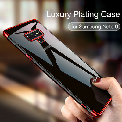 $ CDN2.42 • Buy Soft Silicone Plating Case For Samsung Galaxy S20 Ultra S10 S9 Plus Note 8 9 10