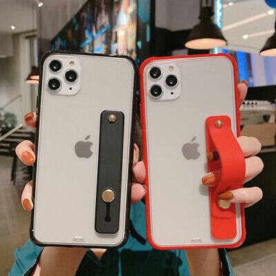 AU4.06 • Buy  Bumper Matte Stand Case With Hand Ring For IPhone X XR XS 11 Pro MAX 6 7 8 Plus