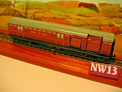 £12.50 • Buy  Neverwazz  HORNBY DUBLO 2/3-RAIL ROYAL MAIL WORKING COACH  - Decals LMS  Livery