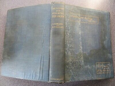 £75 • Buy HUNTING AND STALKING THE DEER, Lionel Edwards & H. Frank Wallace (Longmans 1930)