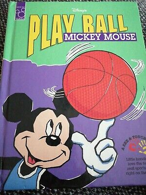£4.99 • Buy Walt Disney's Play Ball Mickey Mouse 1995 A Mouse Works See&Touch
