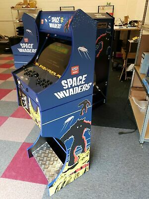 £724 • Buy Arcade Machine 2 Player - Space Invaders Theme - Over 7000 Games + Coin Operated