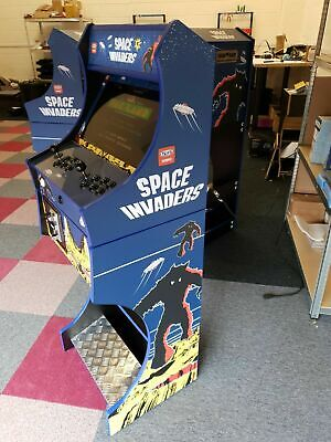 £709 • Buy Arcade Machine 2 Player - Space Invaders Theme - Over 7000 Games + Coin Operated