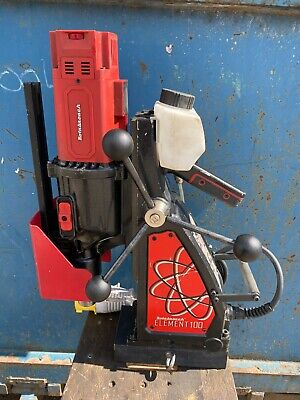 £650 • Buy Rotabroach Element 100 Magdrill Mag Drill Magnetic 1200W In Case Forward Reverse
