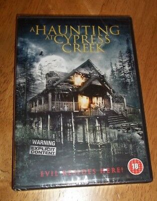£4.65 • Buy A Haunting At Cypress Creek (DVD, 2015) Horror - New And Sealed