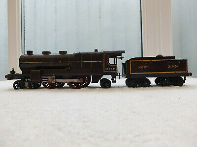 £120 • Buy HORNBY O GAUGE CLOCKWORK 4-4-2 No 31240 FRENCH NORD LIVERY UNBOXED WITH KEY