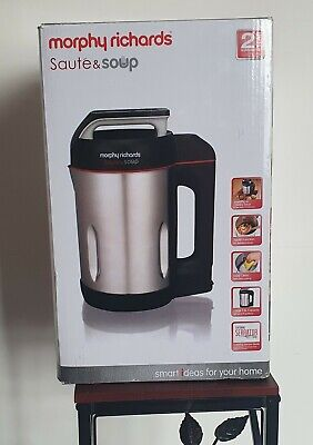 £40 • Buy Morphy Richards 501014 Saute And Soup Maker