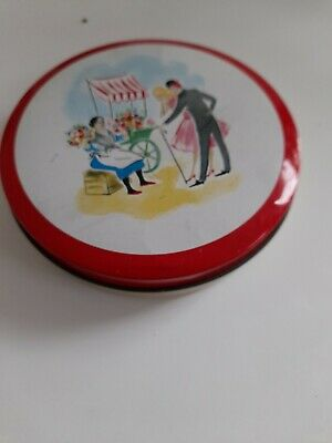 £0.99 • Buy Vintage Williams's Toffee Tin Round Liverpool England Collectable