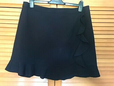 £8.85 • Buy New With Tags Oasis Ruffle Short Skirt With Sliky Satin Lining Size 16