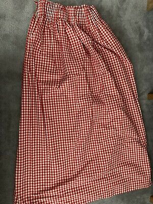 £40 • Buy Red Gingham Curtains