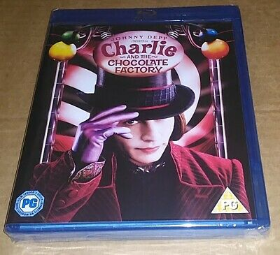 £6.50 • Buy Charlie And The Chocolate Factory (Blu-ray)