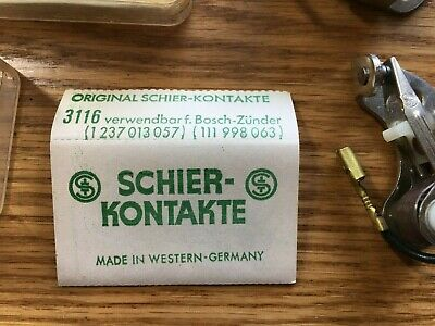 $ CDN60.73 • Buy Vw Bug Bus Ghia 68-70 Nos Schier-kontackte Ignition Points 3 Sets!!