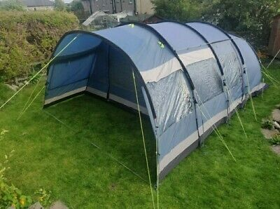 £220 • Buy Outwell Tent Montana 6 Man Person Family Tent Sun Valley 6 Blue