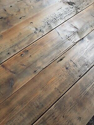 £38 • Buy Reclaimed Victorian Pine Floorboards/cladding Waxed And Buffed