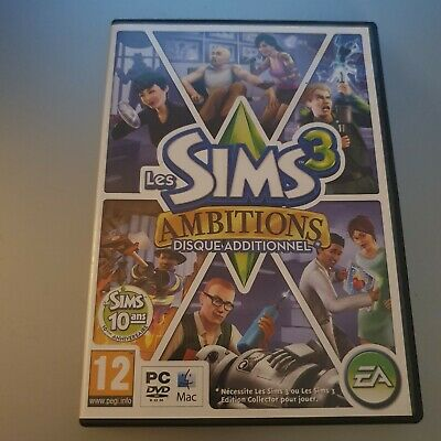 £12.99 • Buy The Sims 3: Ambitions (PC: Mac, 2010) FRENCH EDITION
