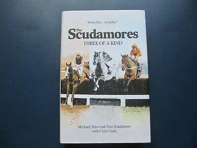£7.99 • Buy The Scudamores: Three Of A Kind - Hardback Book - Michael,Peter,Tom - Chris Cook