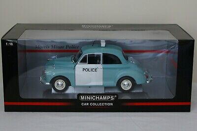 £60 • Buy Minichamps 1:18 Morris Minor Police Car Collection *new* Mint In Box