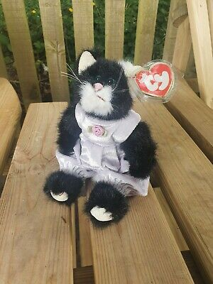 £1.20 • Buy TY Beanie Baby PURRCY THE CAT