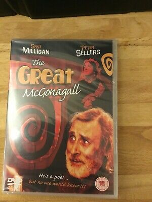 £5.50 • Buy The Great Mcgonagall Dvd New Sealed  Spike Milligan