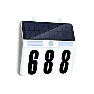 £32.74 • Buy  Lighted House Numbers, Solar House Number Sign With Waterproof 45 LED 3 Modes