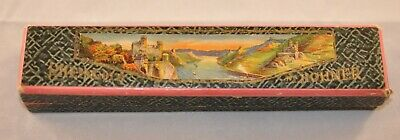 $19.99 • Buy Vintage Rheingold M. Hohner Harmonica In D With Original Box Very Clean