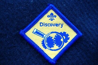 £1 • Buy Discontinued Beaver Scout - Discovery Challenge Badge (JJA)