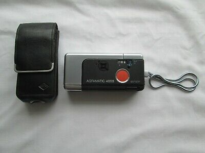 £15 • Buy Agfamatic 4000 Film Camera With Case Untested Spares Or Repair
