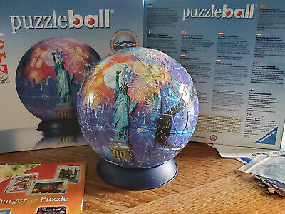 $10.20 • Buy Ravensburger Puzzle Ball - New York - Checked Very Good
