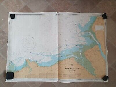 £14.99 • Buy Vintage Admiralty Chart Of Great Ormes Head To Liverpool .